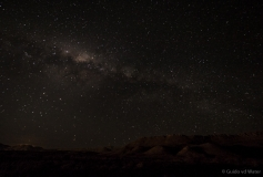 Milky way from the Karoo desert, South-Africa